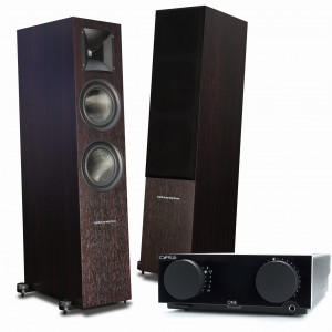 Audiosymptom i6 Walnut + Cyrus One Black