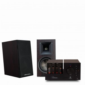 Audiosymptom i6m Walnut + Synthesis Soprano Alu Black