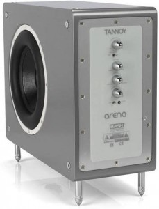 TANNOY TS-500 SILVER SUBWOOFER