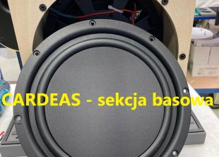 Audio Physic Cardeas – sekcja basowa
